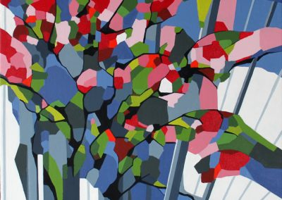 Abstrakt maleri Stauder