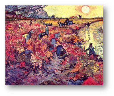 Van Gogh maleri Vingaard