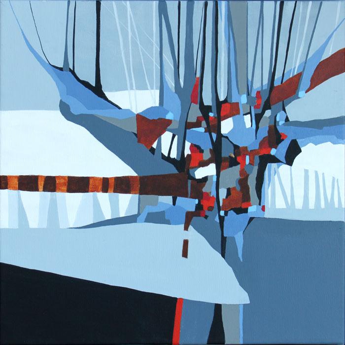 Akrylmalerier har en fri, hurtig arbejdsmetode, god til abstrakt teknik og er lugtfri.