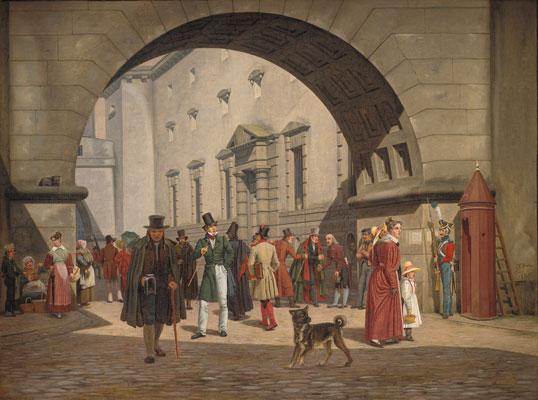 Martinus Rørbyes måske mest kendte billede om samfundets orden