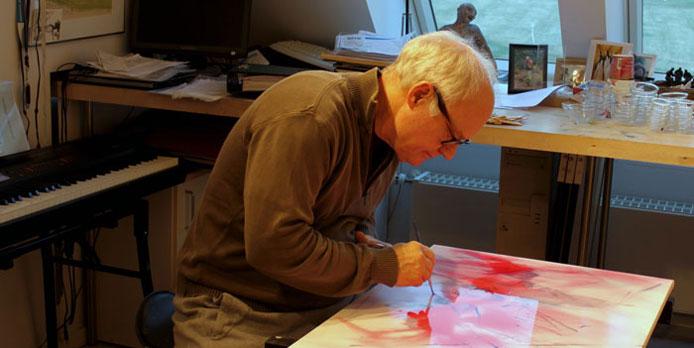 At male og ikke at male – en kunstpause