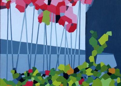Farver fra blomster og liv i grøften