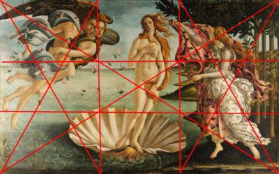 Komposition i malerier
